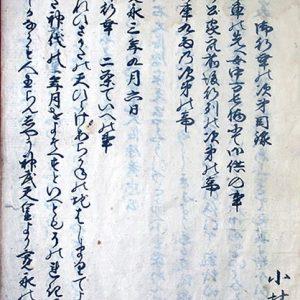 03-074 御幸次第目録 in 臥遊堂沽価書目「所好」三号