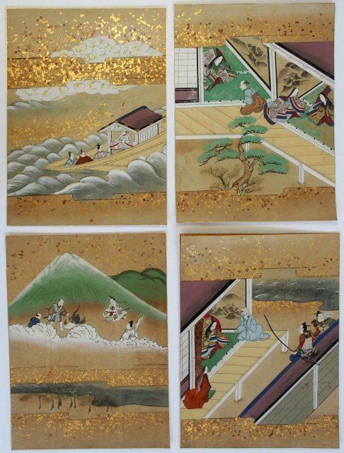 奈良絵挿絵「竹取物語」-1913c