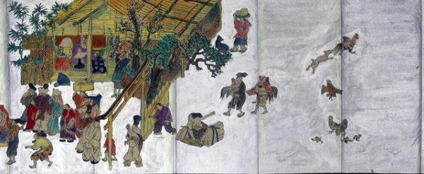 03-134 鶏合01 in 臥遊堂沽価書目「所好」三号