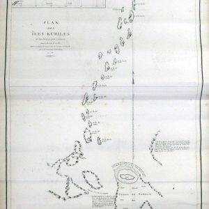 03-144 千島列島図 in 臥遊堂沽価書目「所好」三号