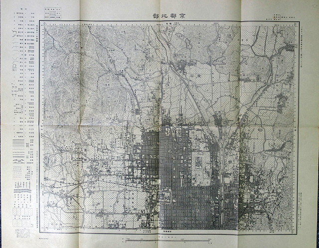 03-147 大日本帝国陸地測量部地図 九八八枚01 in 臥遊堂沽価書目「所好」三号