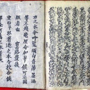 03-172 傾城三度笠下巻01 in 臥遊堂沽価書目「所好」三号