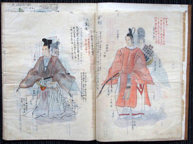 装束礼法稿本-1619c