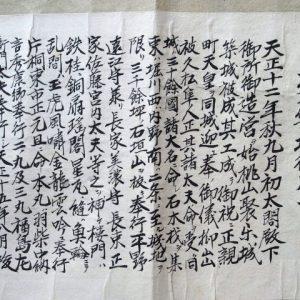 久松家文書-2196c