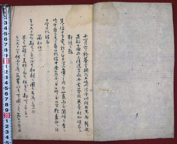 横浜一件(安政四年米使節対話記録/01-256/25291)