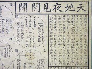 天地夜見開闢・十図古伝説略(02-219/25449)