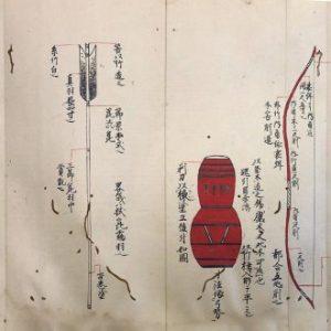 柴田知利自筆射伝書(02-081/25723)
