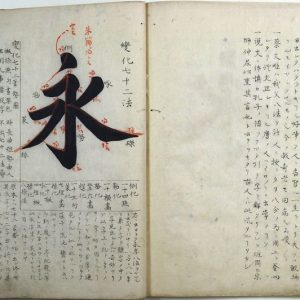 井坂一清写金敬仲著臨池復古編(02-152/25747)