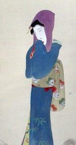横尾芳月画美人図(02-042/25753)