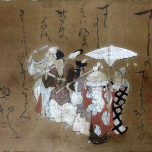 伝岩佐勝重筆住吉踊り図(02-010/25919)