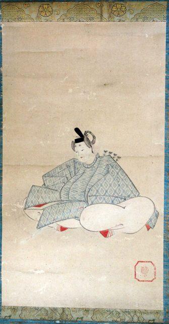 歌仙絵三幅対-0682d