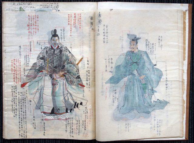 装束礼法稿本-1619d