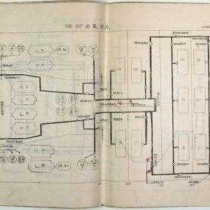 軍艦陸奥・長門・霧島資料八点(01-321/25713)
