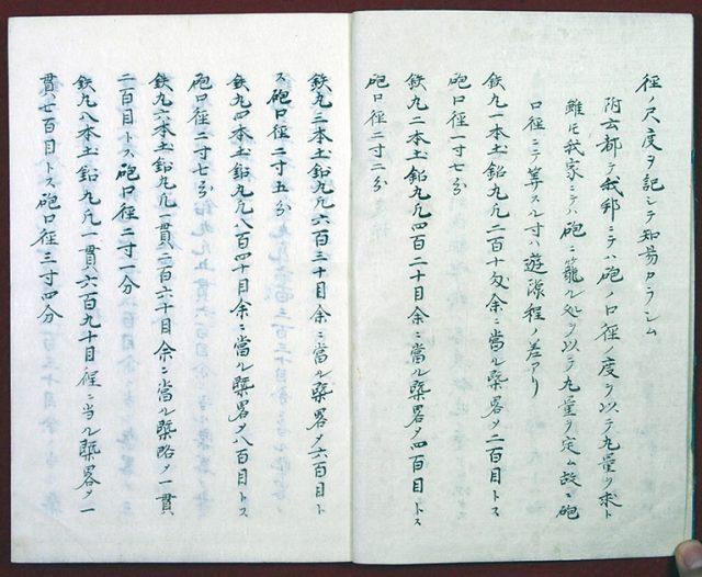 高嶋流砲製度源(01-105/25523)