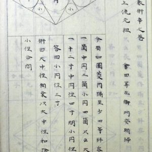 岩淵秀知写関流天元術傍書解ほか(02-153/25756)