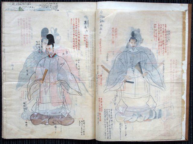 装束礼法稿本-1619b